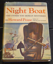 Night Boat & Other Tod Moran Mysteries by Howard Pease 1947, Doubleday & Company