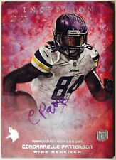 2013 Topps Inception Pink Cordarrelle Patterson Auto RC /25