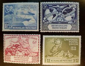 Omnibus - Bechuanaland - 1949 - Sc 149 - 52 - UPU  MH