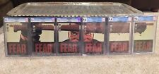 The Walking Dead 97-102 CGC 9.6 Second & Third Printing Connecting Negan Covers