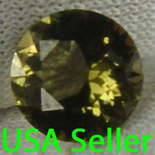Kornerupine Natural Gem Stone 1.3 Cts Rare Round Cut Nice Color & Glow 12012254S