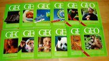 GEO Zeitschrift 1987 komplett Bild der Erde Jahrgang 12 Hefte Sammlung