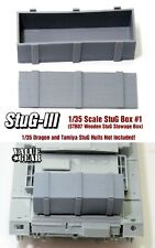 1/35 Scale StuG / Panzer IV Wooden Box (Fits Any Stug) STB07 Value Gear Details