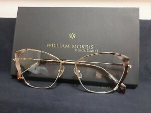 William Morris Black Label Mandy 53-16 BRAND NEW WITH CASE.Gold/Lilac Multicolor