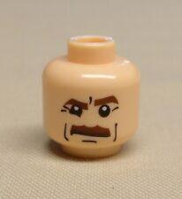 x1 NEW Lego Minifig Head FLESH Star Wars Indiana Jones Army Minifigure Head