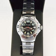 New VOSTOK Russian Amphibian 200m Diver Automatic Mens Watch #060334- US SELLER
