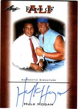 WWE TNA Hulk Hogan 2011 Leaf FAU-2 Fans of Ali Authentic Autograph On Card