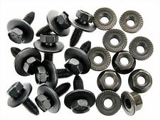Ford Truck Bolts & Flange Nuts- M8-1.25mm Thread- 13mm Hex- Qty.10 ea.- #129