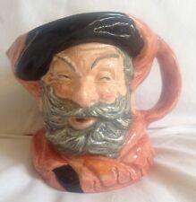 Vintage Royal Doulton Toby Mug Jug Sir John Falstaff Character Pottery D 6287