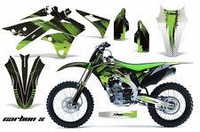 AMR Racing Kawasaki Graphic Kit Bike Decal KXF 250 Decal MX Part 13-15 CARBON X