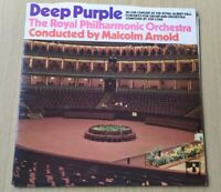 Deep Purple Royal Philharmonic Orchestra Gatefold Vinyl LP SHVL767 A1/B1 NM