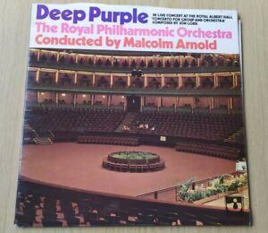 Deep Purple Royal Philharmonic Orchestra Gatefold Vinyl LP SHVL767 A1/B1 NM