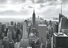 Wallpaper New York Skyline Black and White photo wall mural NO ADHESIVE INCLUDED
