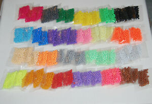 Water Fusion Beads Refill Set in 23 Different Colors, Includes 60 packets