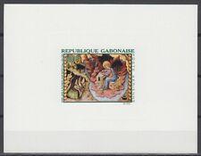 Gabon ScC66 St. John on Patmos, Painting, Juan Mates, Deluxe Proof