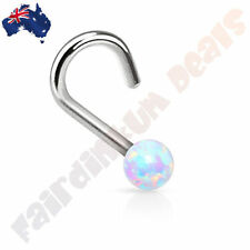 Opal 20g (0.8 mm) Gauge (Thickness) Piercing Jewellery