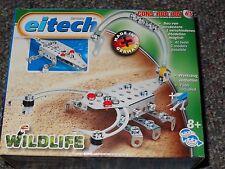 Eitech Wildlife Scorpion Crocodile Metal Construction Building Toy C65