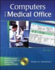 Computers in the Medical Office with Student Data CD-ROM-ExLibrary