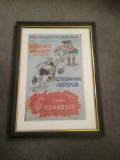 FRAMED CANVAS PRINT OF 1963 ECWC FINAL - TOTTENHAM HOTSPUR V ATHLETICO MADRID