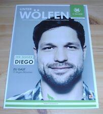 Programme VfL Wolfsburg-FC Bayern Munich 15.02.2013 - League 1. - 2012/2013