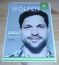 Programm VfL Wolfsburg - FC Bayern München 15.02.2013 - 1.Liga - 2012/2013