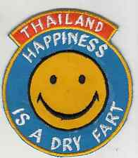 Wartime Thai Made Happiness Is a Dry Fart Patch