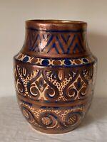 Vintage Ethan Allen Spanish Pottery Vase
