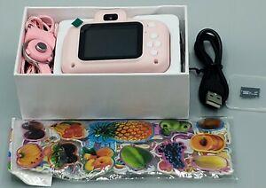 Kids Digital Selfie Camera Portable HD Mini Camcorder, Picture Video, Open Box