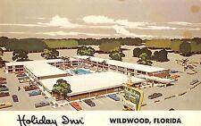 Wildwood Florida Holiday Inn Bird's Eye View Vintage Postcard V21261