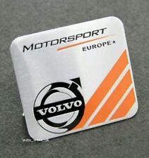 New Aluminium Volvo Motorsport Badge Emblem Decal Sticker Car Europe High Qualit