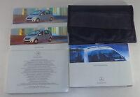 Bordmappe + Betriebsanleitung Mercedes Benz Vaneo Typ 414 Stand 01/2002
