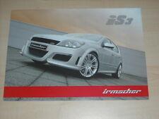 55236) Opel Astra iS3 Irmscher Prospekt 11/2004