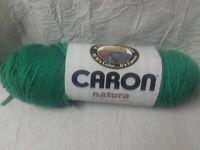1 Skein Caron Natura Yarn~68 Breezy Green~3 oz~100% Acrylic~4 Ply~New