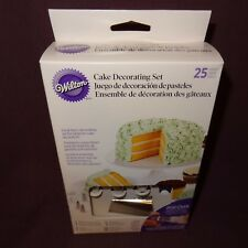 New Wilton Cake Decorating Set 25 Pieces Tips Quick Twist Top Bags Beginners