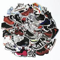 60x Basketball Air Jordan Sneakers Sticker Dope Skateboard Guitar Graffiti Decal