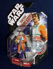 Star Wars 30th Anniversary BIGGS DARKLIGHTER Rebel Pilot Figure #14 Hasbro 2007