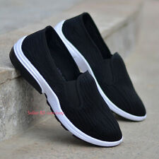 Mens Casual Comfort Cloth Shoes Chinese Martial Art Kung Fu Tai Chi Flats Shoes