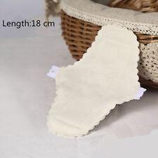 2 Pcs Women Panty Liners Thin Reusable Washable Menstrual Cloth Sanitary Pads
