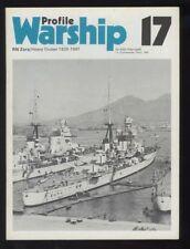 PROFILE PUBLICATION No 17  WARSHIP RN ZARA/HEAVY CRUISER