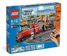 Lego 3677 Güterzug mit Diesellokomotive, Schienenoval, mit Fernsteuerung  NEU !
