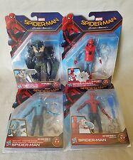 Marvel Spiderman Homecoming Figure Set Lot Of 4 Spiderman Tech Homemade Vulture