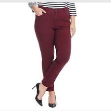 ef76505d329 Women s Plus Plum Slim Leg High Rise Jeans Size 24w X 30 Wp3060