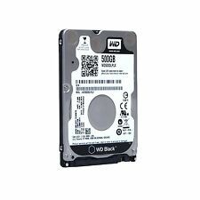 HARD DISK INTERNO 2,5 WESTERN DIGITAL500GB SATA6Gb 7200rpm 32MB WD5000LPLX BLACK