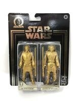 Star Wars Commemorative Edition Obi-Wan Kenobi Snaking Skywalker Gold Figures