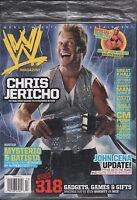 WWE magazine Holiday 2007 Chris Jericho, Rey Mysterio EX 121115DBE