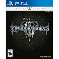 Kingdom Hearts 3 III Deluxe Edition PlayStation 4 PS4 Brand New
