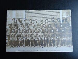 WW1 - 219TH NOVA SCOTIA HIGHLANDERS - CANADA RPPC Real Photo Postcard
