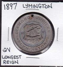 1897 Lymington Queen Victoria Longest Reign Medal