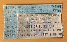 1997 JOHN FOGERTY LOS ANGELES CONCERT TICKET STUB CREEDENCE CLEARWATER REVIVAL 2
