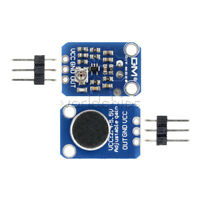 Electret Microphone Amplifier MAX4466 W/ Adjustable Gain components For Arduino